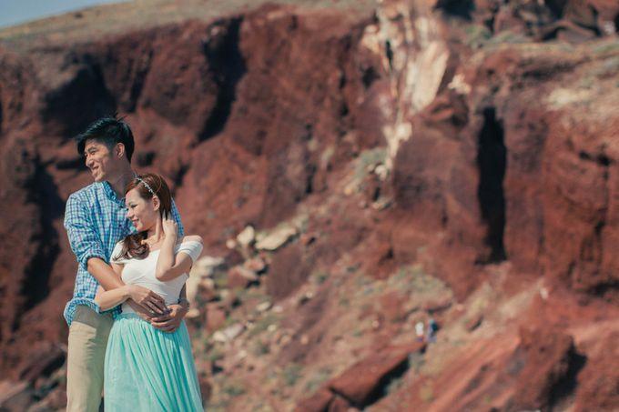 Xan & Natalie Santorini Engagement by Ian Vins - 023