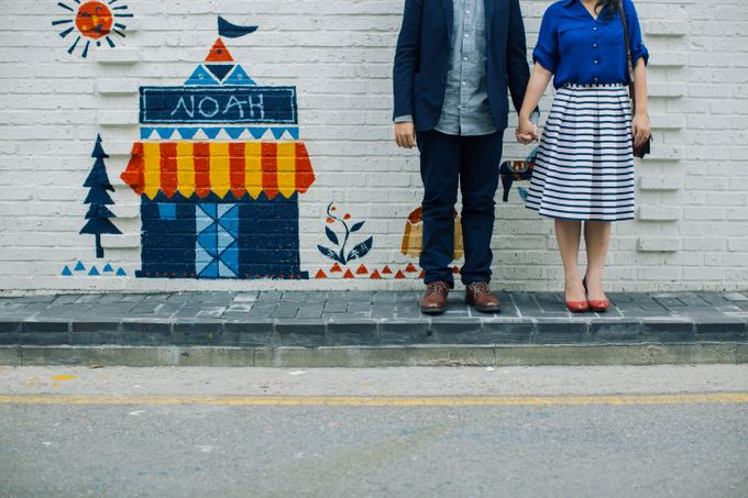 Jeff & Rachel Seoul Pre-wedding by Ian Vins - 026