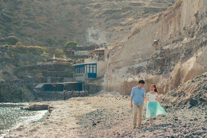 Xan & Natalie Santorini Engagement by Ian Vins - 022
