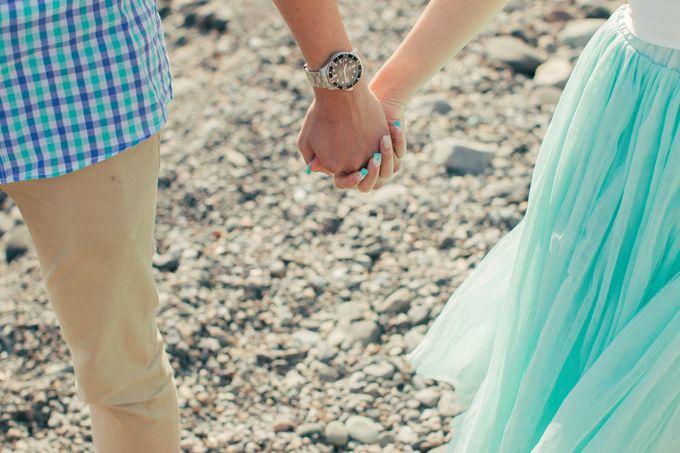 Xan & Natalie Santorini Engagement by Ian Vins - 021
