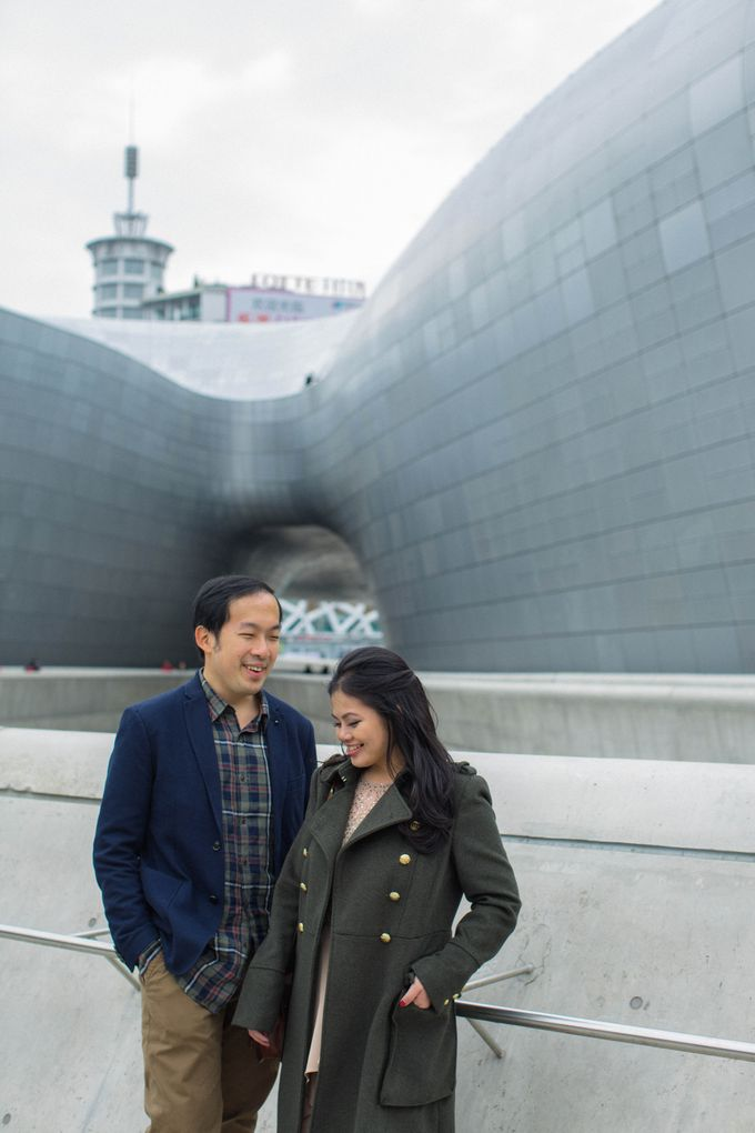 Jeff & Rachel Seoul Pre-wedding by Ian Vins - 020