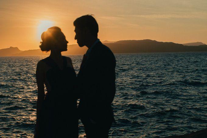 Xan & Natalie Santorini Engagement by Ian Vins - 035