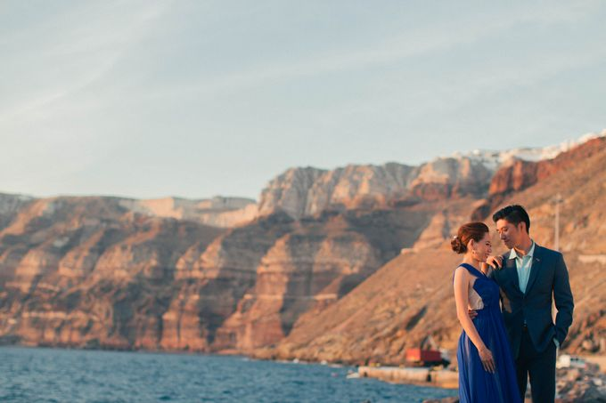 Xan & Natalie Santorini Engagement by Ian Vins - 033