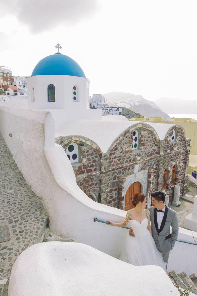 Xan & Natalie Santorini Engagement by Ian Vins - 012