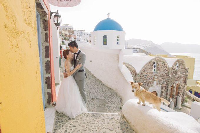 Xan & Natalie Santorini Engagement by Ian Vins - 019