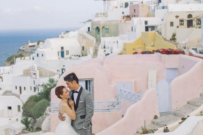 Xan & Natalie Santorini Engagement by Ian Vins - 017