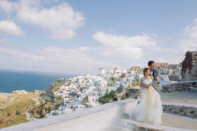 Xan & Natalie Santorini Engagement by Ian Vins - 014