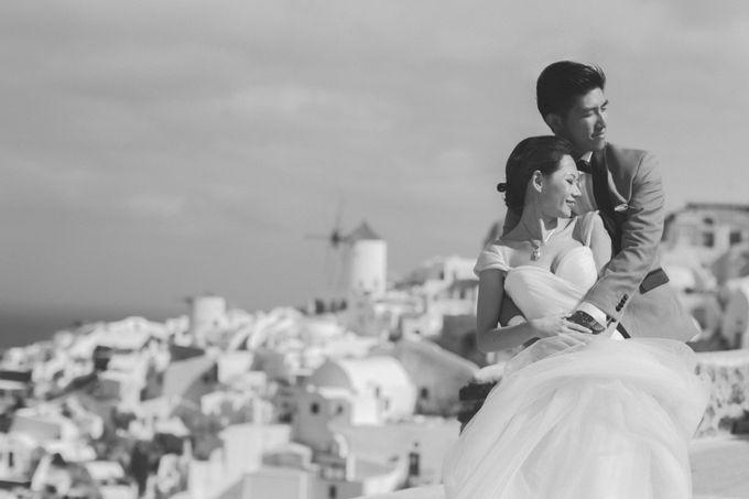 Xan & Natalie Santorini Engagement by Ian Vins - 015