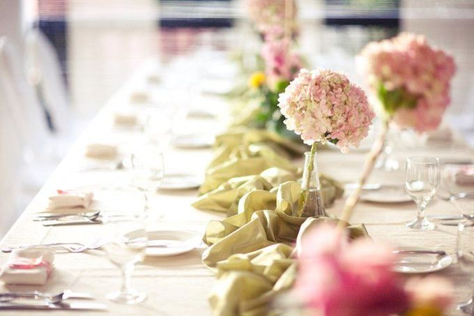 Decoration - Long tables set-up by Spellbound Weddings - 009