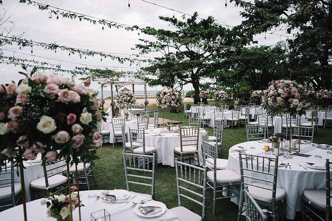 Beachfront Wedding at Sofitel Bali by WiB flowers - 003