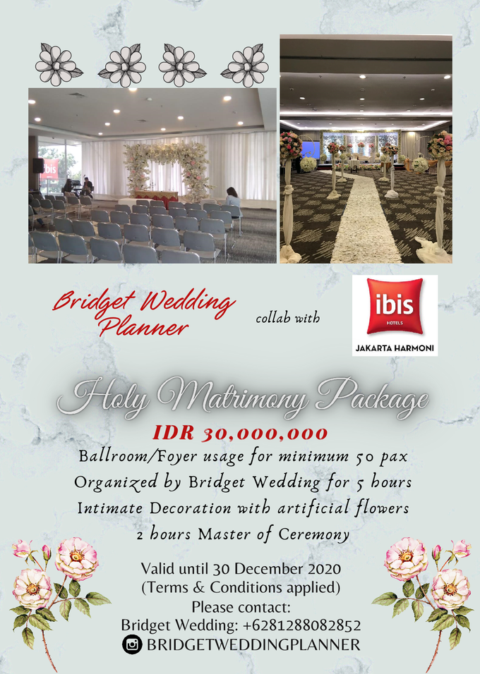 Holy Matrimony Package For New Normal by Bridget Wedding Planner - 001