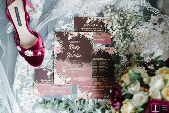 Classic Burgundy Theme Wedding - Ricky & Novelyn by Icona Elements Inc. ( an Events Company, Wedding Planning & Photography ) - 004