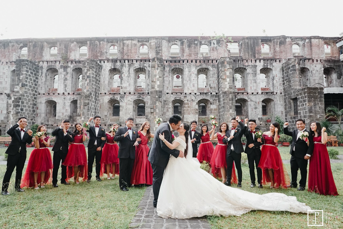 Classic Burgundy Theme Wedding - Ricky & Novelyn by Icona Elements Inc. ( an Events Company, Wedding Planning & Photography ) - 002