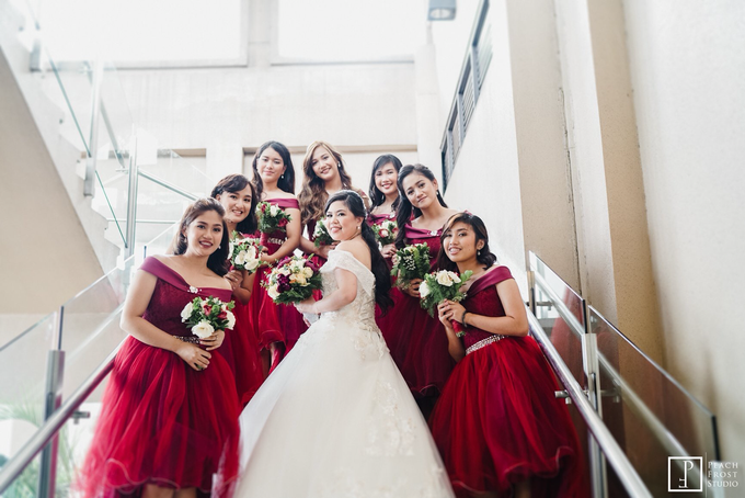 Classic Burgundy Theme Wedding - Ricky & Novelyn by Icona Elements Inc. ( an Events Company, Wedding Planning & Photography ) - 008