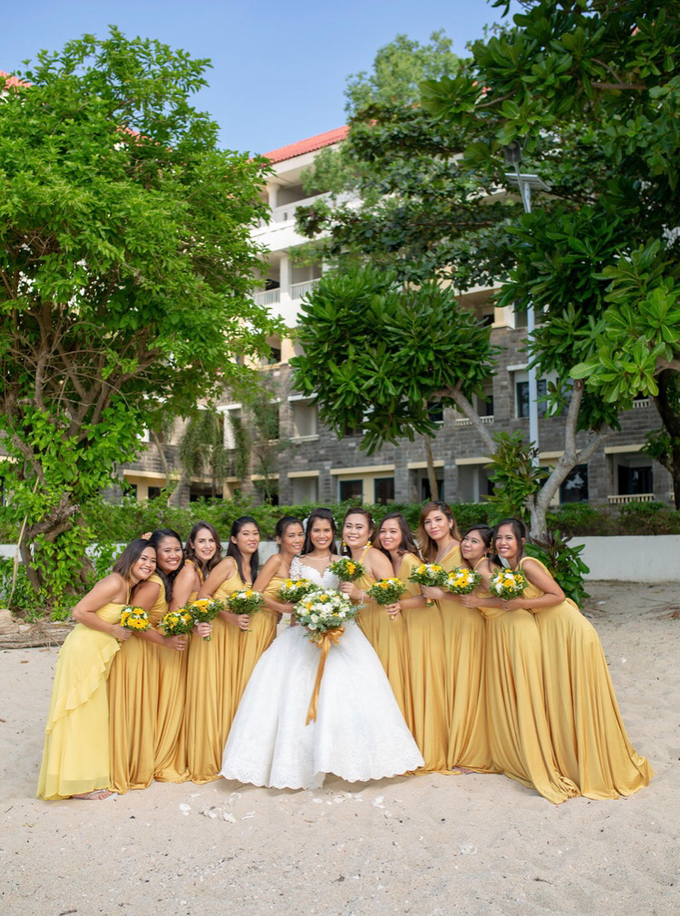 Beach Wedding - Simeon and Christel 10.25.2018 by Icona Elements Inc. ( an Events Company, Wedding Planning & Photography ) - 005