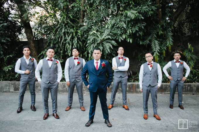 Blue and Red Wedding - Marcus & Rachel  02.02.2019 by Icona Elements Inc. ( an Events Company, Wedding Planning & Photography ) - 011