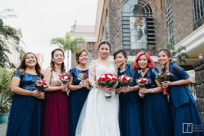 Blue and Red Wedding - Marcus & Rachel  02.02.2019 by Icona Elements Inc. ( an Events Company, Wedding Planning & Photography ) - 013