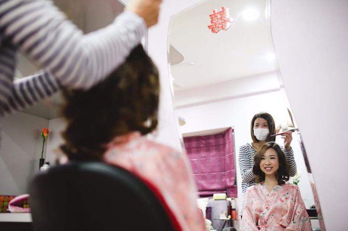 Actual Day Prissie♥Zhengyu by Gin Tan makeup artist - 005