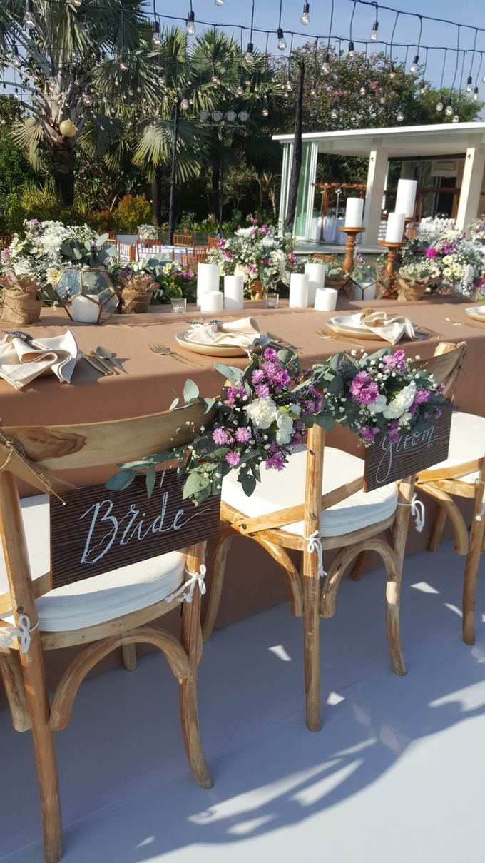 Sunset Garden Party by d'Oasis Florist & Decoration - 026