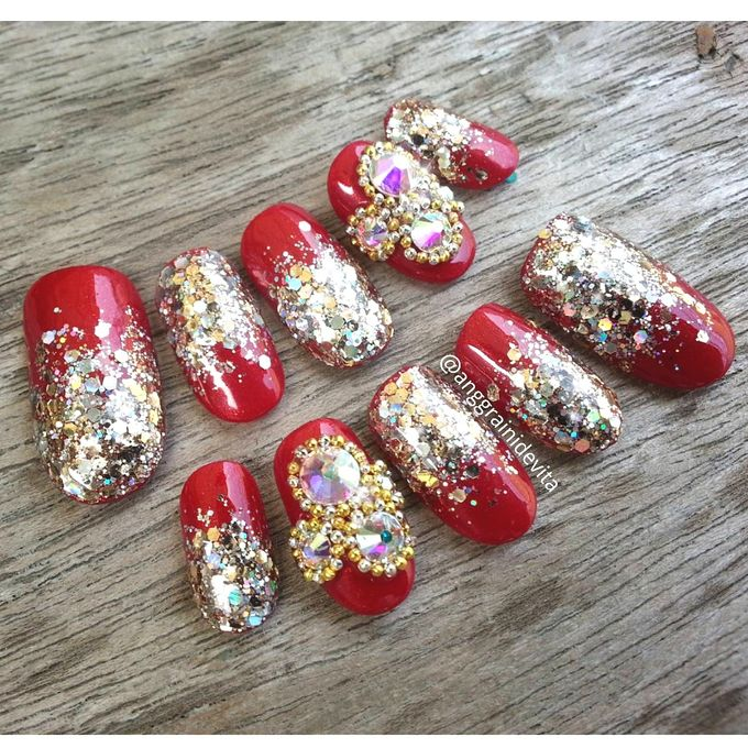 Fake Nails by Story of Nailart - 019