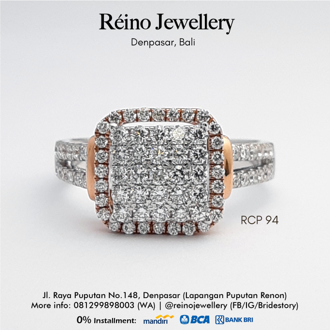 Engagement Ring - Cincin Perempuan by Reino Jewellery - 015