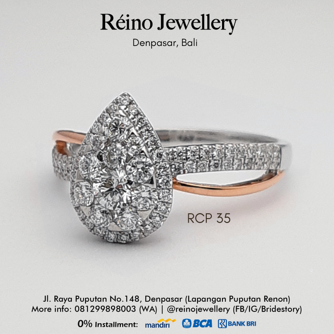 Engagement Ring - Cincin Perempuan by Reino Jewellery - 016