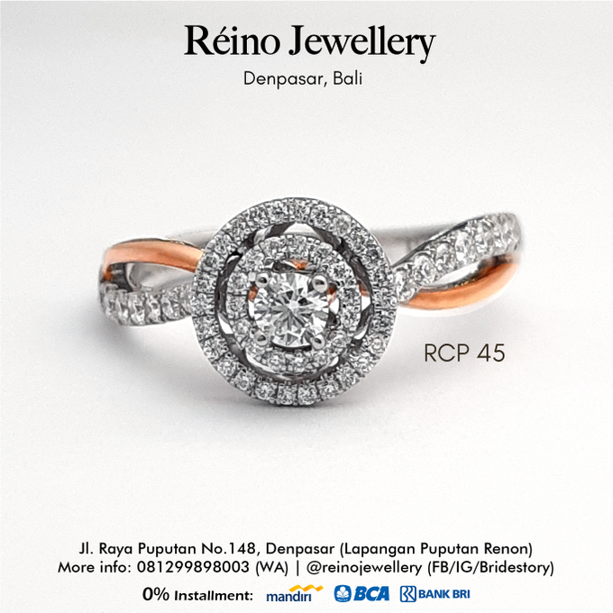 Engagement Ring - Cincin Perempuan by Reino Jewellery - 017