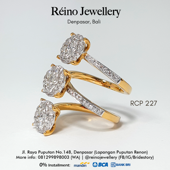 Engagement Ring - Cincin Perempuan by Reino Jewellery - 018