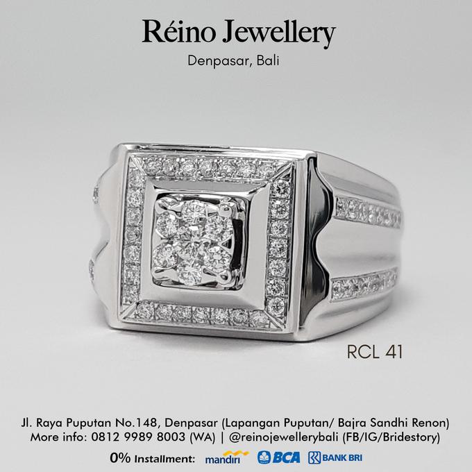 Men Ring or Cincin Pria by Reino Jewellery - 005