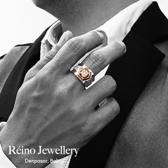 Men Ring or Cincin Pria by Reino Jewellery - 002