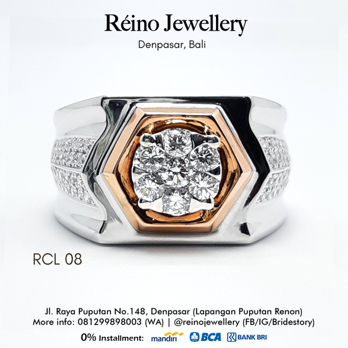Men Ring or Cincin Pria by Reino Jewellery - 003