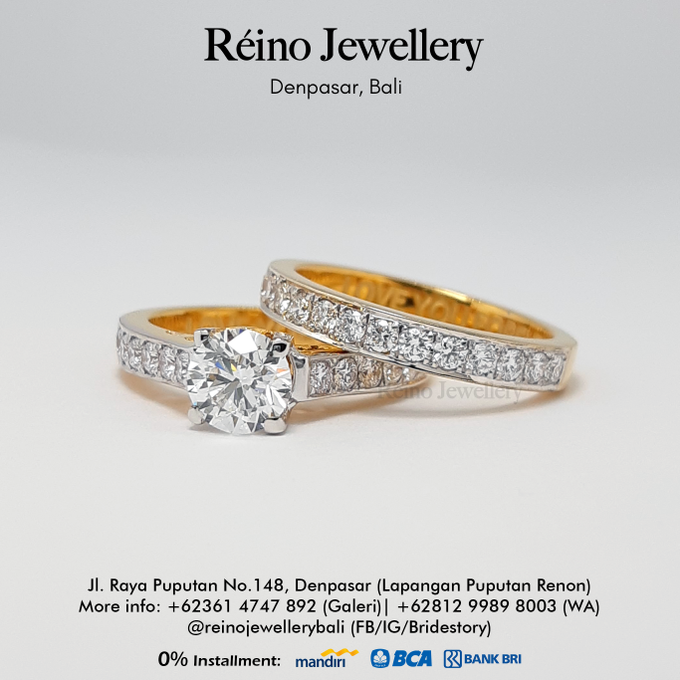 Engagement Ring - Cincin Perempuan by Reino Jewellery - 014