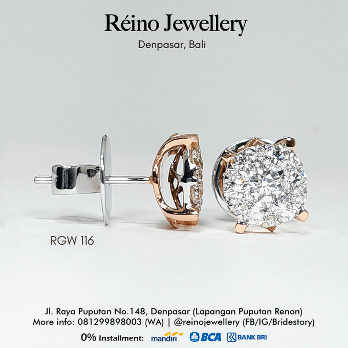 Anting anting or Earring by Reino Jewellery - 009