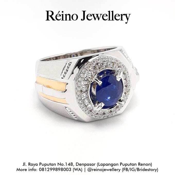 Men Ring or Cincin Pria by Reino Jewellery - 008