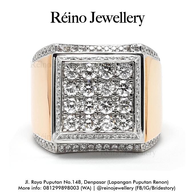 Men Ring or Cincin Pria by Reino Jewellery - 009