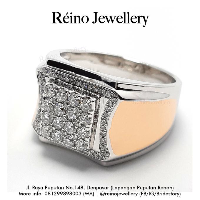 Men Ring or Cincin Pria by Reino Jewellery - 006