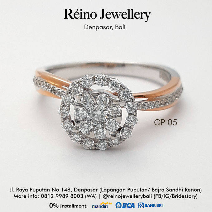 Engagement Ring - Cincin Perempuan by Reino Jewellery - 001