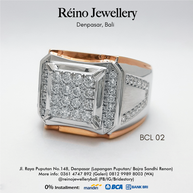 Men Ring or Cincin Pria by Reino Jewellery - 010