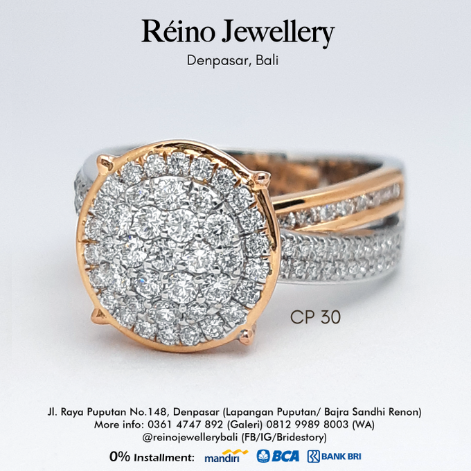 Engagement Ring - Cincin Perempuan by Reino Jewellery - 003