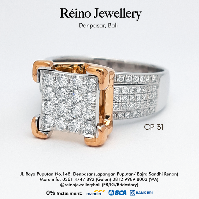 Engagement Ring - Cincin Perempuan by Reino Jewellery - 004
