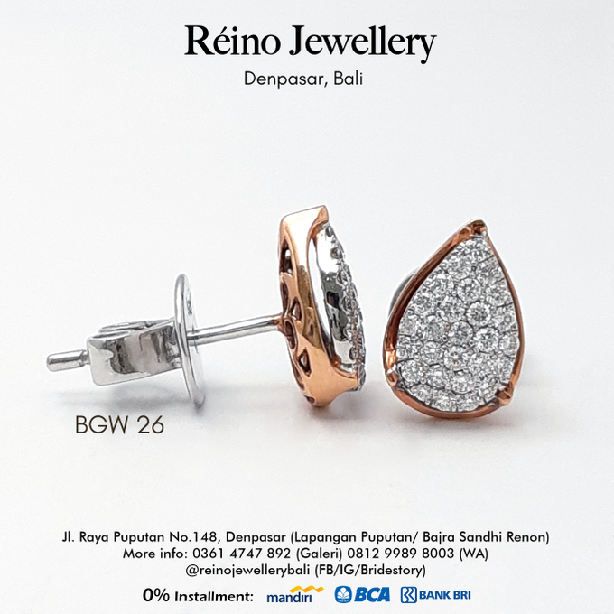 Anting anting or Earring by Reino Jewellery - 013