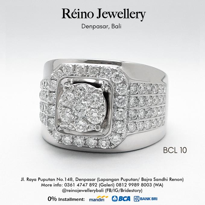Men Ring or Cincin Pria by Reino Jewellery - 011