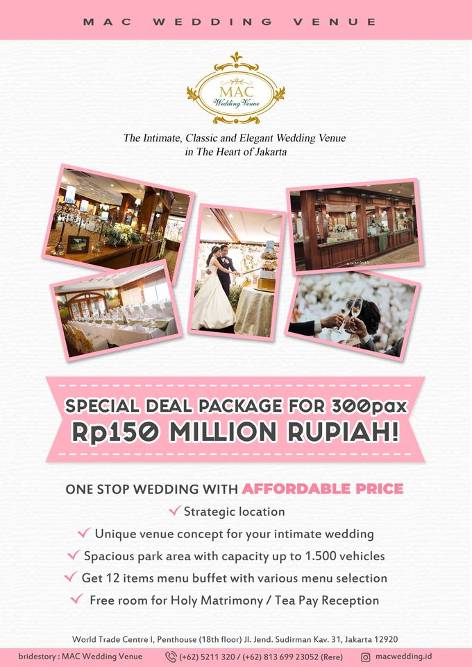 Special Deal Package for 300 Pax by MAC Wedding - 001