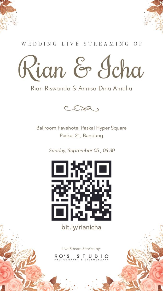 RIAN & ICHA - LIVE STREAMING AKAD NIKAH by Fave Hotel Hypersquare - 002