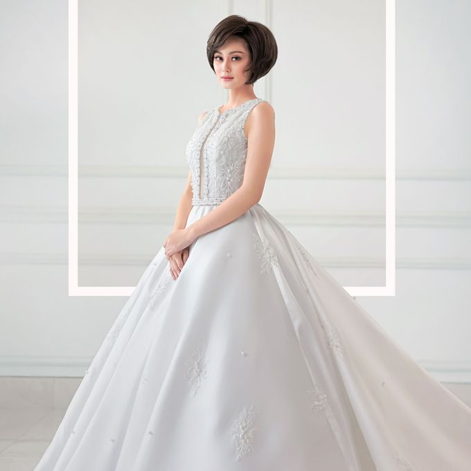 European Wedding Dresses by Gester Bridal & Salon Smart Hair - 019