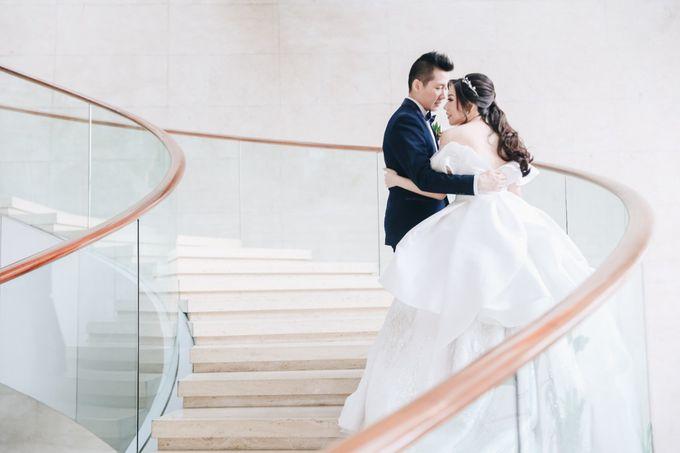 William & Selvi Wedding at Hilton Hotel by PRIDE Organizer - 028