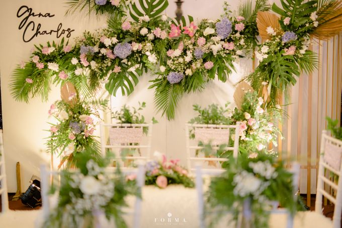 The Wedding of Gina & Charlos di The Joglo Garden by Decor Everywhere - 002