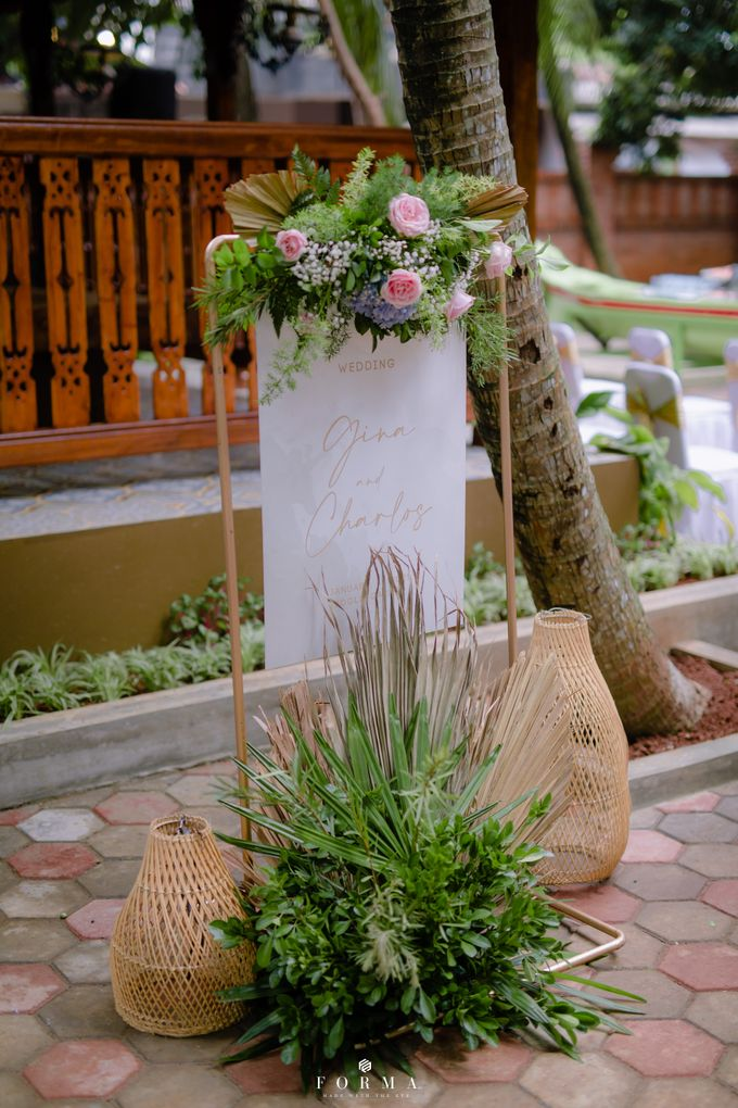 The Wedding of Gina & Charlos di The Joglo Garden by Decor Everywhere - 011