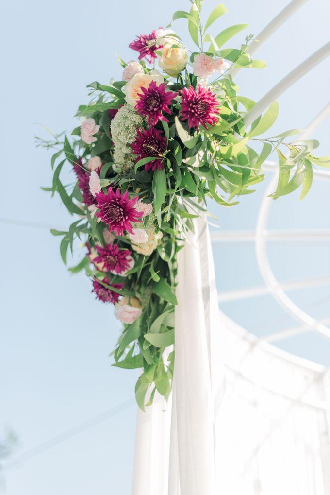 Whimsical Tropical Wedding at Stone House by Tirtha by Tirtha Bali - 013