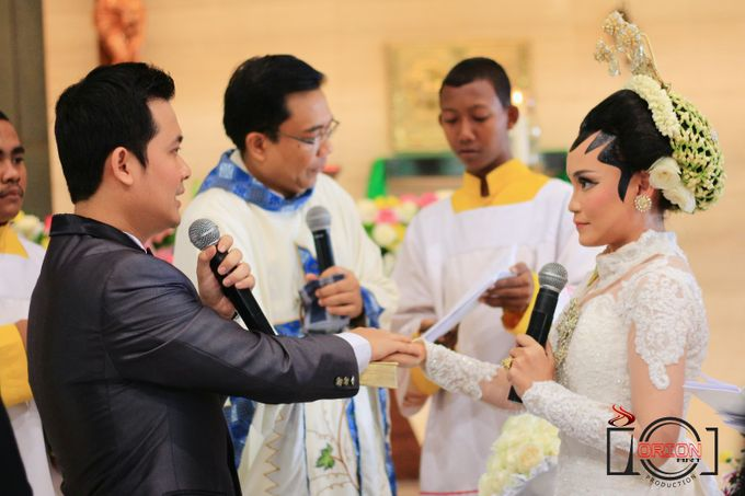 Monic + Dicky Wedding (Holy Matrimony) by Orion Art Production - 009